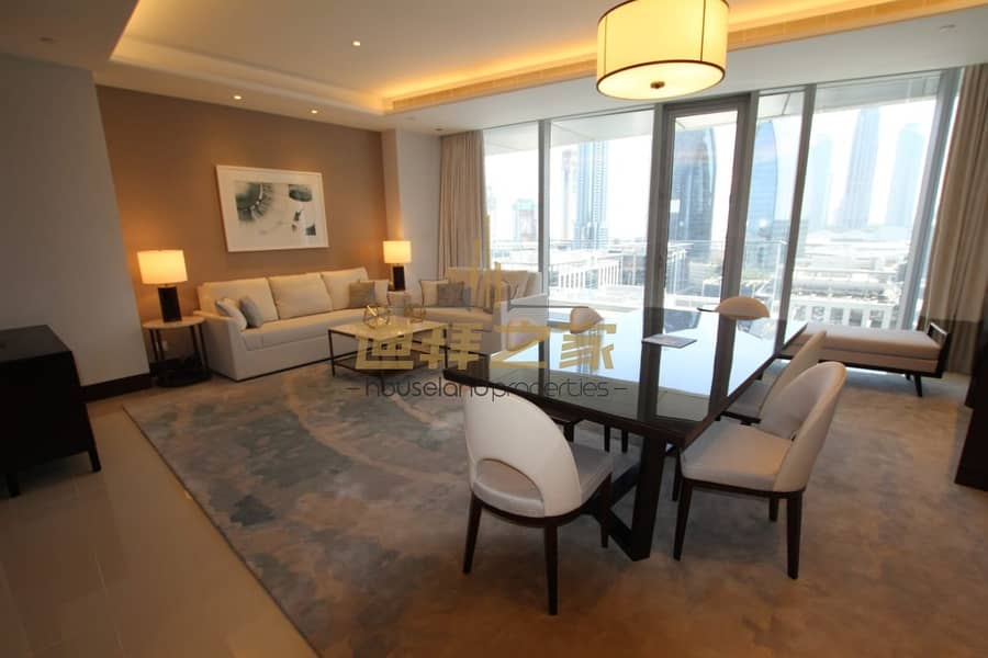 2 Luxury and Spacious 2BHK with Full Burj  Khalifa View