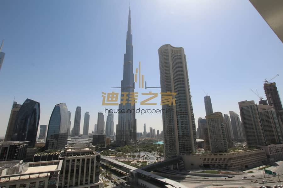 13 Luxury and Spacious 2BHK with Full Burj  Khalifa View