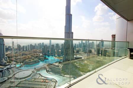 Three Bed + Maid | Full Burj Khalifa View