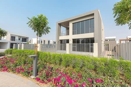 4 Bedroom Villa for Sale in Dubai Hills Estate, Dubai - Back shot