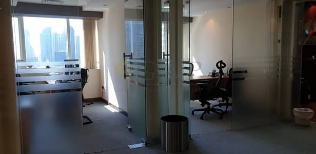 Office for Rent in Jumeirah Lake Towers (JLT), Dubai - Glass Cabins | Lake View | One Lake Plaza