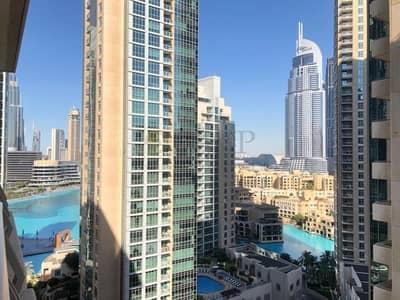 استوديو  للايجار في وسط مدينة دبي، دبي - Fountain View|Bright and Spacious|Ready To Move In