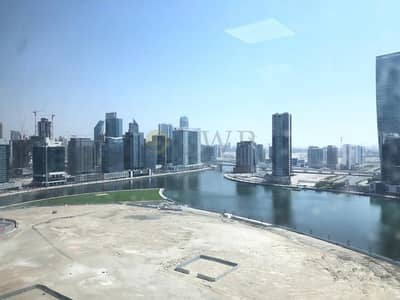 Office for Rent in Al Nahda, Dubai - Full Canal View|Fully Furnished|2 Parking