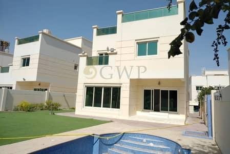 فیلا 4 غرف نوم للايجار في قرية جميرا الدائرية، دبي - Private Pool | Detached Villa | Only One Level | Must See |