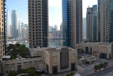 فلیٹ 3 غرف نوم للايجار في جميرا بيتش ريزيدنس، دبي - Vacant  - Full Marina View - High Floor