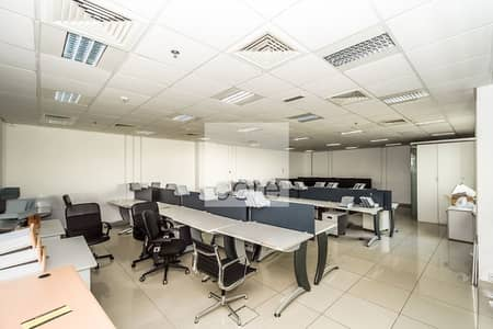 Office for Rent in Dubai Investment Park (DIP), Dubai - Spacious fitted office in EBC for rent