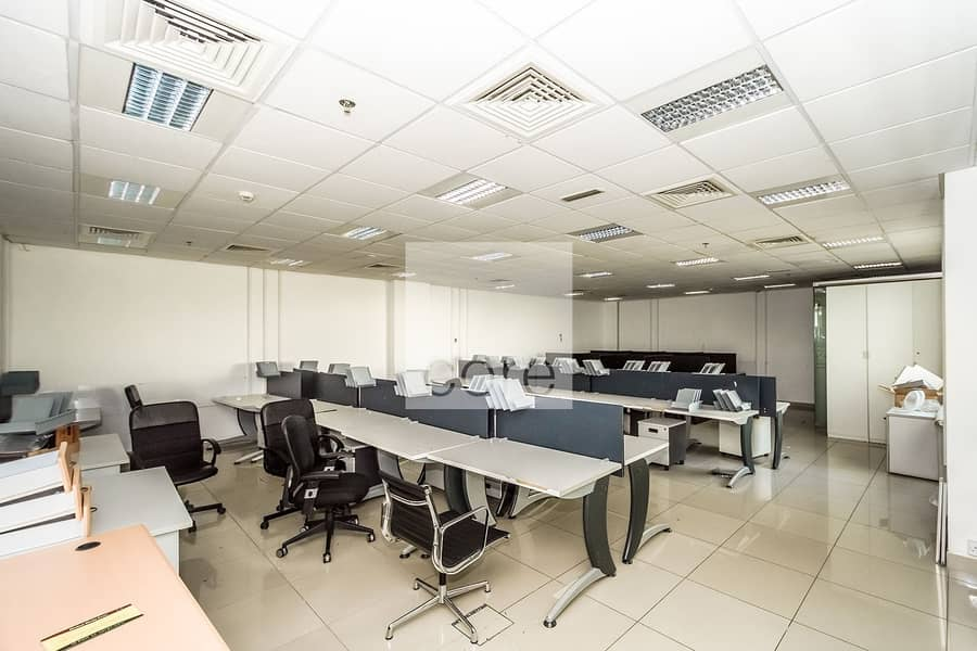 Spacious fitted office in EBC for rent