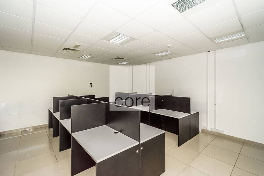 2 Spacious fitted office in EBC for rent