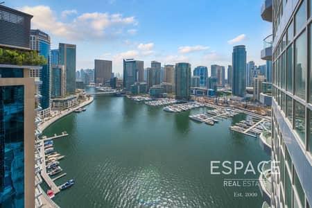 2 Bedroom Apartment for Sale in Dubai Marina, Dubai - Full Marina View   Close to JBR and the Beach