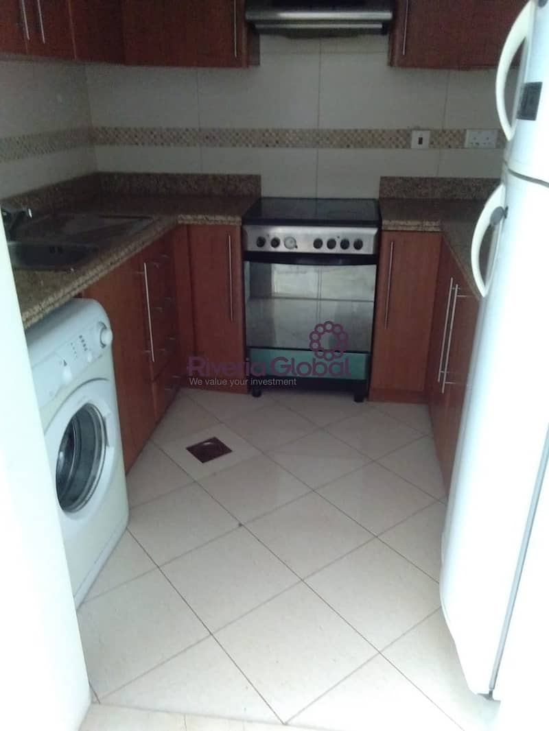 2 Furnished 1 BHK | Saba 3 | Well Maintained
