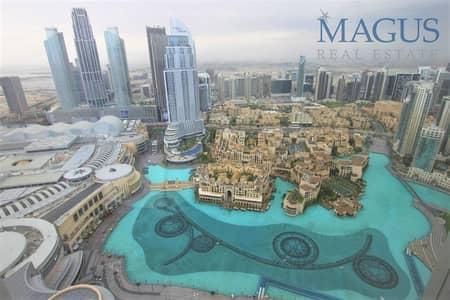 2 Bedroom Apartment for Rent in Downtown Dubai, Dubai - RARE UNIT!  Full Fountain View | 2 BR in BK