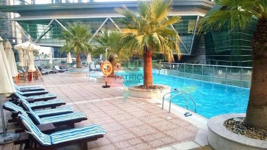 شقة 1 غرفة نوم للايجار في أبراج بحيرات الجميرا، دبي - HEART OF JLT full lake  view amazing 1 Bedroom lake terrace tower