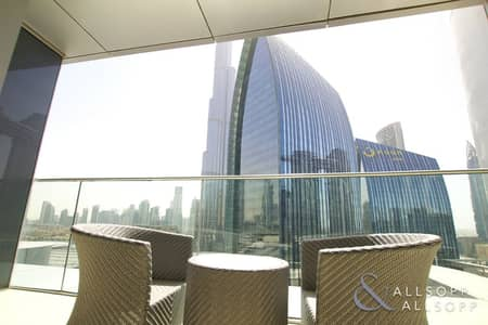 2 Bedroom Apartment for Rent in Downtown Dubai, Dubai - Burj Khalifa View | Furnished | 2 Bedrooms
