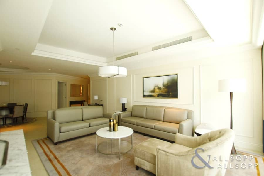 2 Burj Khalifa View | Furnished | 2 Bedrooms