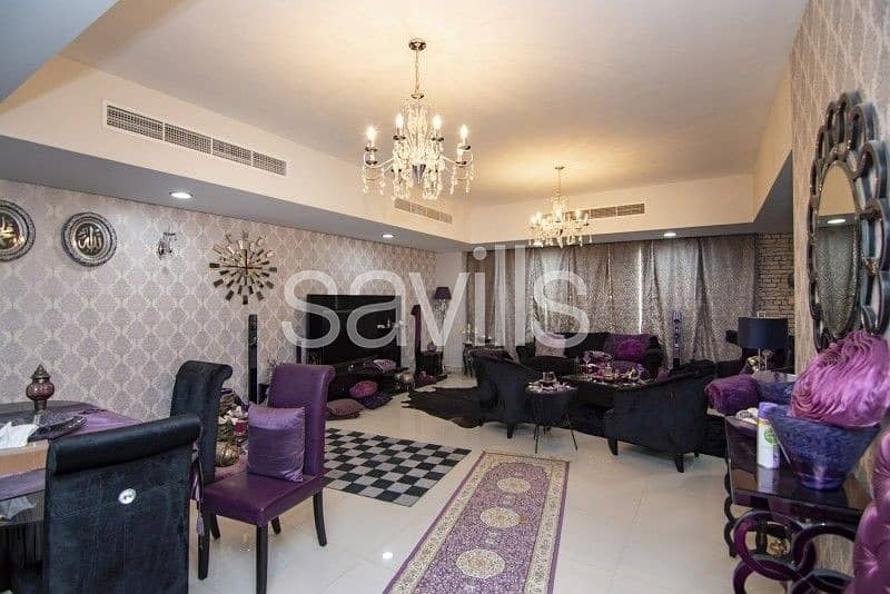 1 Furnished 6 BR upgraded villa with fountain