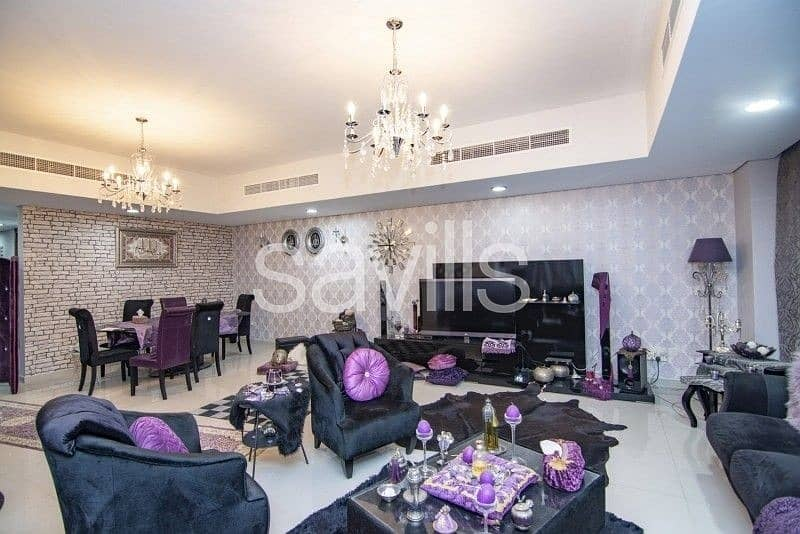2 Furnished 6 BR upgraded villa with fountain