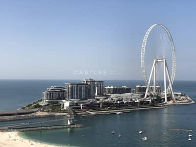 4 Bedroom Apartment for Sale in Jumeirah Beach Residence (JBR), Dubai - AWESOME 4 BED DUPLEX - FULL SEA-VIEW