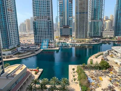 1 Bedroom Flat for Sale in Jumeirah Lake Towers (JLT), Dubai - Investor's Deal ROI 8 Percent Vacant Lake View