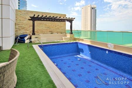 بنتهاوس 4 غرف نوم للايجار في دبي مارينا، دبي - Four Bedrooms | Full Sea View | Penthouse