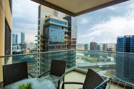 شقة 1 غرفة نوم للايجار في وسط مدينة دبي، دبي - Canal View | Furnished 1BR | Great Price