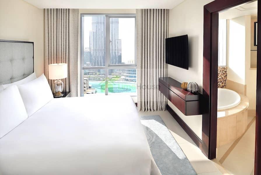Long/Short Term   Full Burj Khalifa and Fountain View
