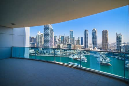 2 Bedroom Apartment for Sale in Dubai Marina, Dubai - Amazing Full Marina View / Vacant En Suit 2BR