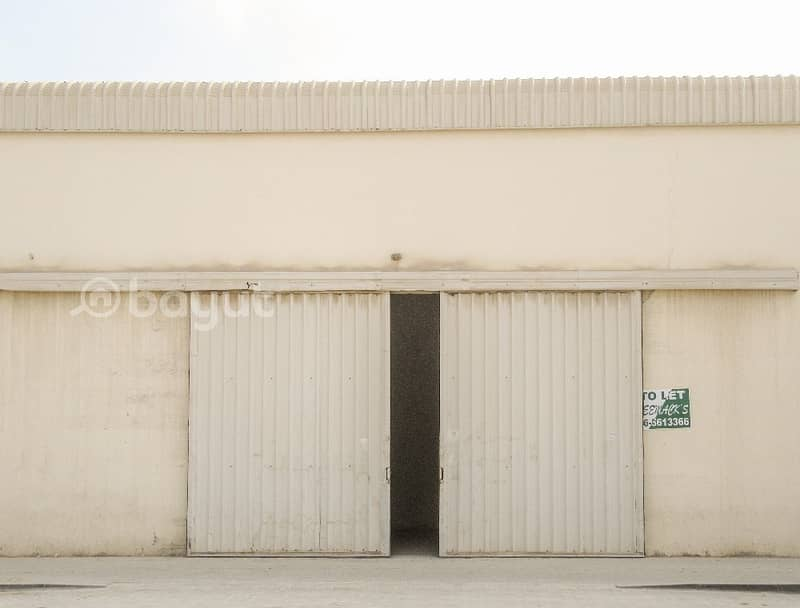 2 6500 SQFT WAREHOUSE IN INDUSTRIAL AREA NO.11