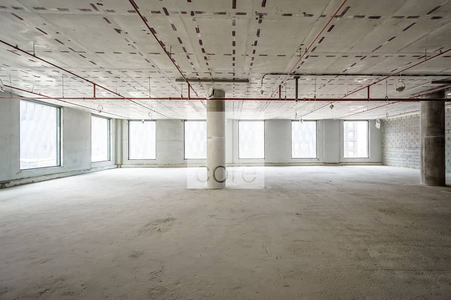 Brand New | Full Floor  | Shell and Core