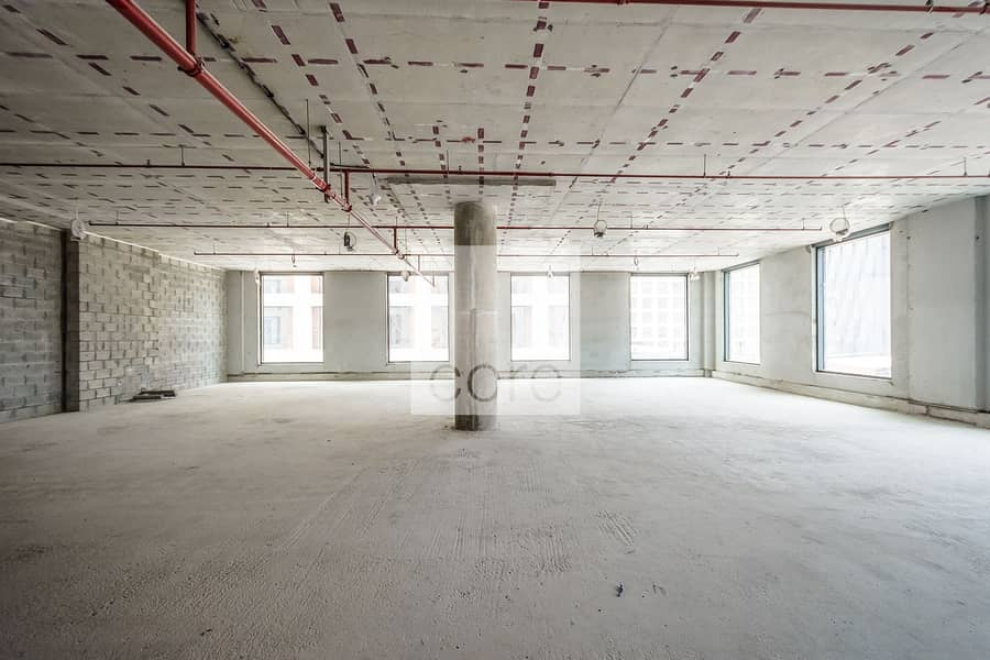 Full Floor | Shell and Core | Flexible Lease