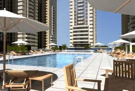 1 Bedroom Apartment for Rent in Al Sawan, Ajman - SWIMING POOL