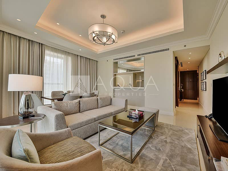 2 Best Priced Full Burj n Fountain View | Brand New