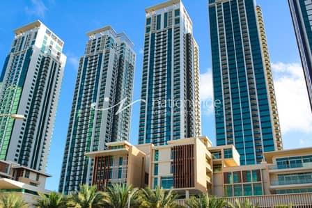 استوديو  للايجار في جزيرة الريم، أبوظبي - Modern Studio Apartment For Two Payments In Marina Heights 2