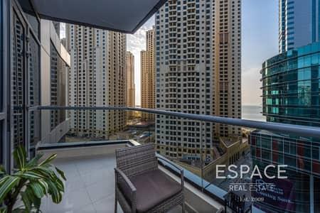 1 Bedroom Apartment for Sale in Dubai Marina, Dubai - Immaculate | 1 Bedroom | Vacant on transfer