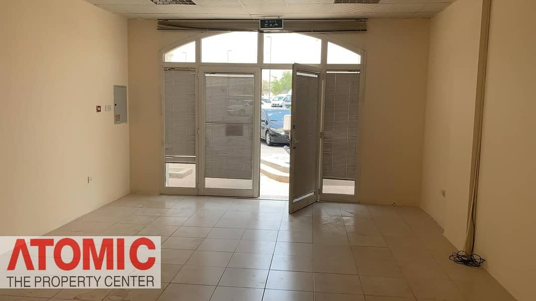 2 Grab The Deal : Well Maintained  And   Front Side Vacant Fully Fitted Shop For Sale In Greece Cluster ( CALL NOW )-06