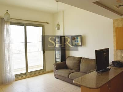 1 Bedroom Apartment for Sale in Dubai Production City (IMPZ), Dubai - Fully Furnished one bed rent at Oakwood Residency