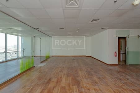 Office for Rent in Business Bay, Dubai - Fitted   with Glass Partition   with Pantry   Business Bay