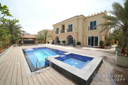 5 Bedroom Villa for Rent in Dubai Sports City, Dubai - Upgraded And Extended | Golf Course Views