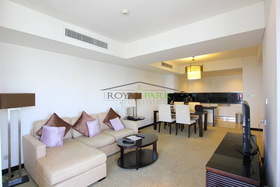 2 Largest 2br apartment at the address marina hotel