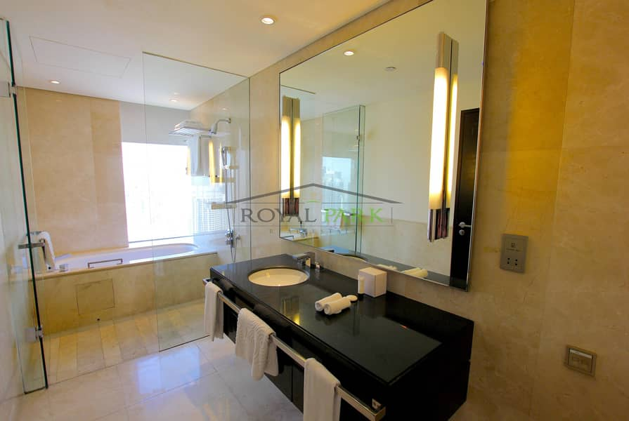 5 Largest 2br apartment at the address marina hotel