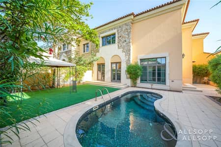 4 Bedroom Villa for Sale in Jumeirah Golf Estate, Dubai - Muirfield Style | 4 Bedroom | Immaculate