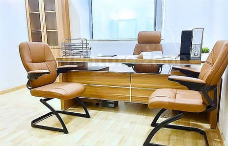 Virtual Office with a Desk Space | Al Musalla Towers and Mall | Near Metro Station