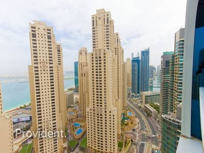 1 Bedroom Flat for Sale in Dubai Marina, Dubai - Cozy Upgraded Apartment with Incredible View on JBR