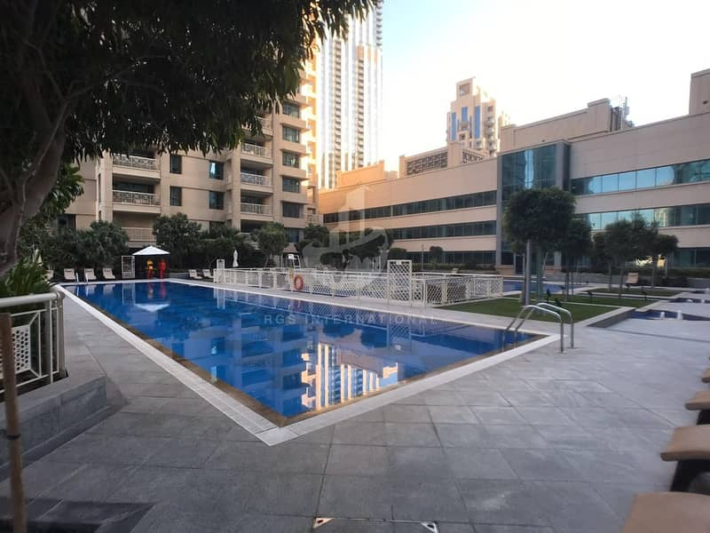 Bright and Spacious Studio for Rent in Downtown Dubai