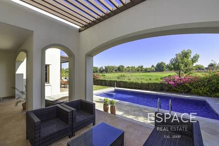 فیلا 5 غرف نوم للايجار في عقارات جميرا للجولف، دبي - Murcia | Golf And Lake View | A Must See