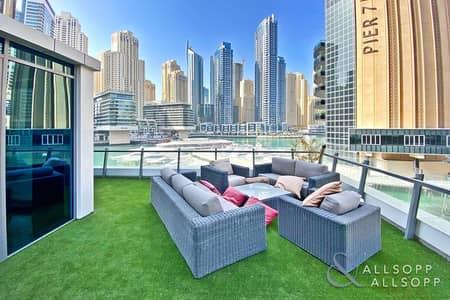 4 Bedroom Apartment for Sale in Dubai Marina, Dubai - Unique Terrace | Full Marina Views | 4 Bed