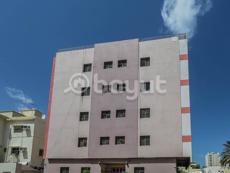 Central air-conditioning room and hall for rent in Al-Naeemah area