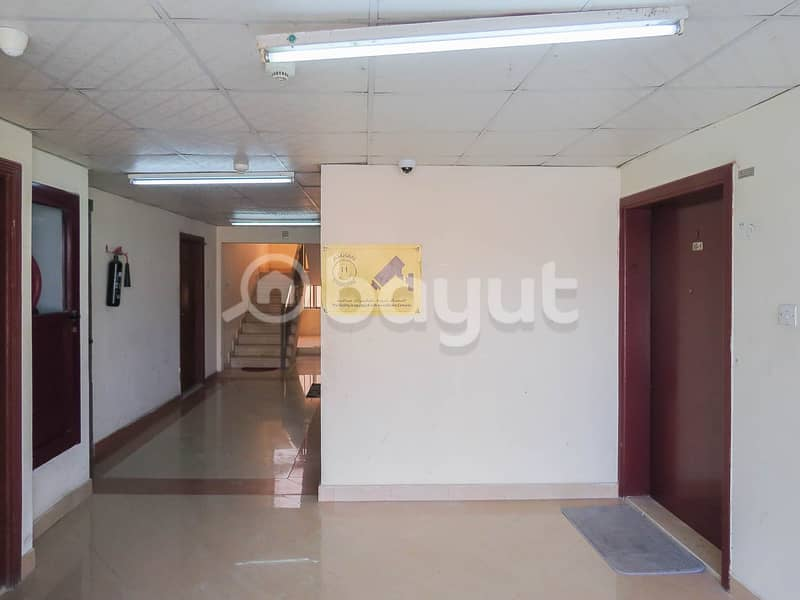 Apartment room and hall in Al Nuaimia district central air conditioning 16000 dirhams