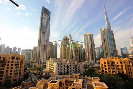 بنتهاوس 4 غرف نوم للبيع في المدينة القديمة، دبي - panoramic skyline view penthouse top floor