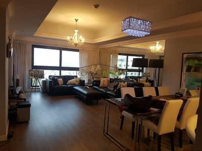 فلیٹ 1 غرفة نوم للايجار في نخلة جميرا، دبي - UPGRADED 1 BR FAIRMONT RESIDENCE FURNISHED