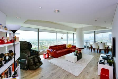 2 Bedroom Apartment for Sale in Sheikh Zayed Road, Dubai - Very Well Maintained | 2 BR+M | Tenanted Apartment